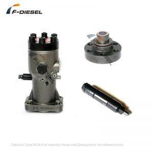Daihatsu DK20 DK26 DK28 Fuel Pump and Components