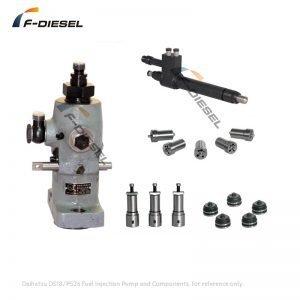 Daihatsu DS18 PS26 Fuel Pump and Components