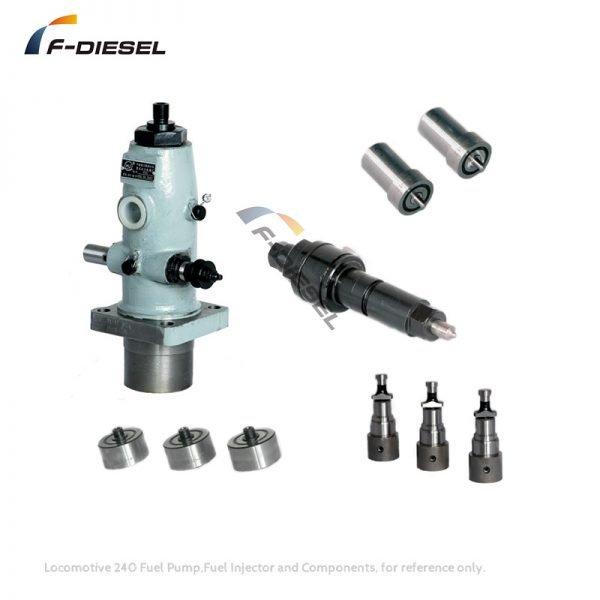 Locomotive 180 240 280 Fuel Pump Fuel Injector and Components