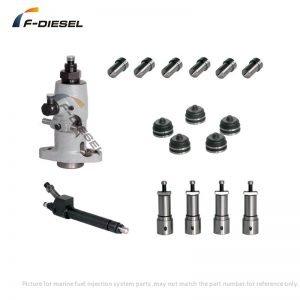 MAN B&W S46MC-C Fuel Injection Parts