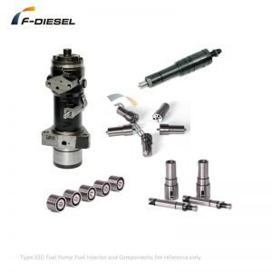 Type 320 Fuel Pump Fuel Injector and Components