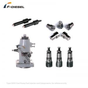 Type G300 Fuel Pump Fuel Injector and Components