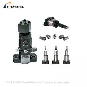 Type TL23 210 Fuel Pump, Fuel Injector and Components
