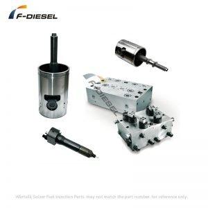 Wärtsilä Sulzer RTA48 marine Fuel Injection Parts