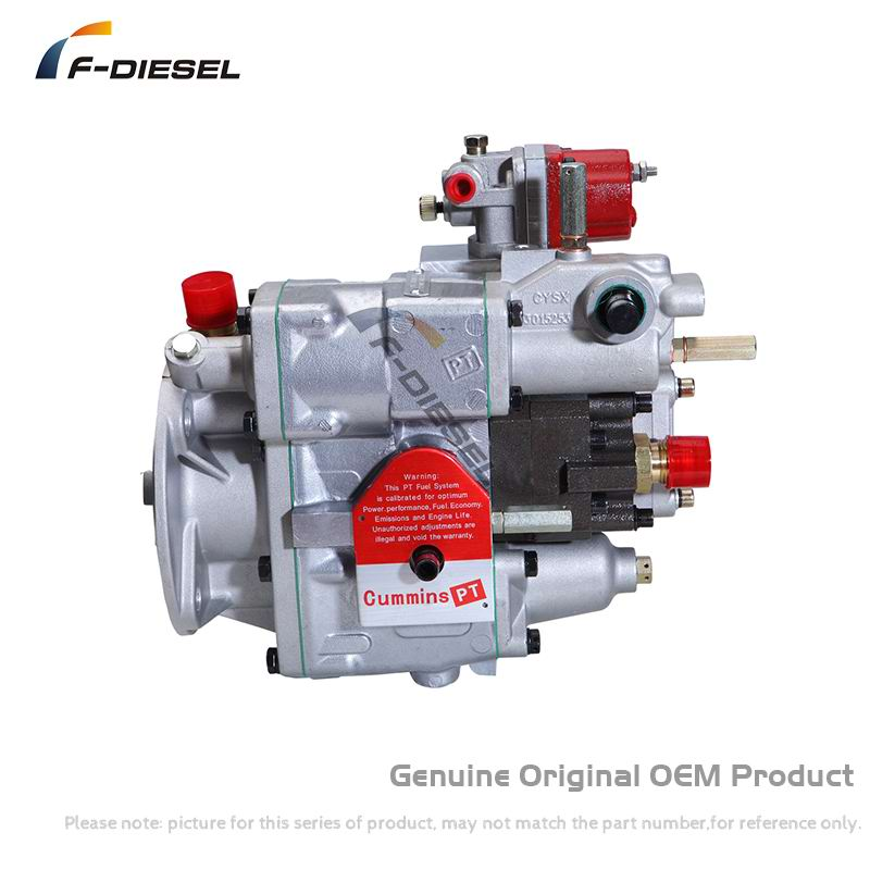 Original OEM PT Fuel Pump 3655889 Matching PT Injector 3047991 is used in Cummins NTA855-C400 Diesel Engine of WB400 Mixer